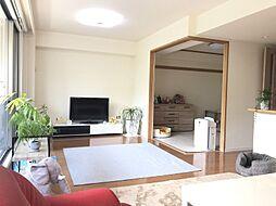 LDは15.5帖隣接の和室の扉を開ければ広々空間