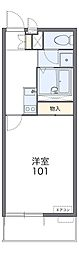 Osaka Metro谷町線 長原駅 徒歩8分の賃貸マンション 1階1Kの間取り