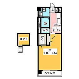 Aranjuez千原[3階]の間取り
