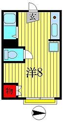 カーサ新[2階]の間取り