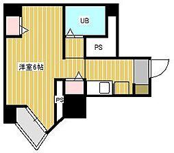 ベルトピア新松戸第2[4階]の間取り
