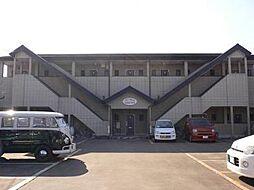 宮崎県宮崎市神宮西2丁目の賃貸アパートの外観