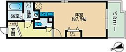 シルエラ室見[2階]の間取り