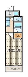 カーペンターハウス[1階]の間取り