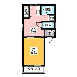 ROYAL HEIGHTS 2[2階]の間取り