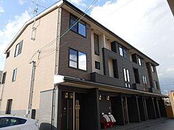 京都府京都市伏見区石田森東町の賃貸アパートの外観