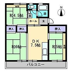 SPERANZA TAKAMATSU[201号室]の間取り