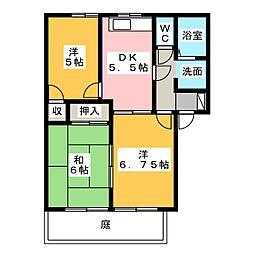 アトレ C棟[1階]の間取り