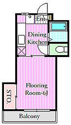 第3マルヨシビル[3階]の間取り