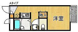 レオパレスフィールド・イン[2階]の間取り