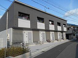大阪府高石市加茂2丁目の賃貸アパートの外観