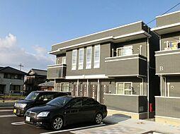 香川県三豊市三野町吉津の賃貸アパートの外観