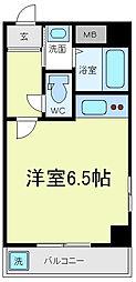 スター21おばせ[3階]の間取り