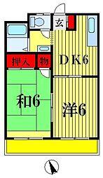 第2泉ビル[3階]の間取り