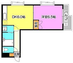 けやき通りマンション[1階]の間取り