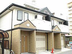 愛知県一宮市あずら1丁目の賃貸アパートの外観