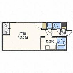 ジャパンプラザ円山[4階]の間取り