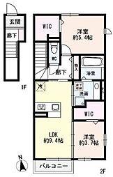 TSUMIKI(ツミキ)[2階]の間取り