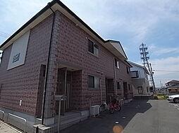 兵庫県姫路市飾磨区下野田4丁目の賃貸アパートの外観