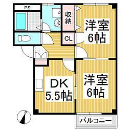 アイムKID[2階]の間取り