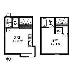 北海道札幌市豊平区平岸二条3丁目の賃貸マンションの間取り