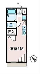 パルフラット町田[2階]の間取り