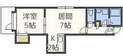 MKガーデン北39[2階]の間取り