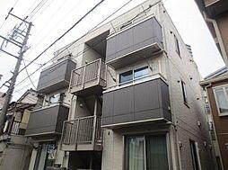 東京都荒川区荒川7丁目の賃貸アパートの外観