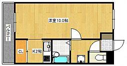 ジョイフルスワノI[3階]の間取り