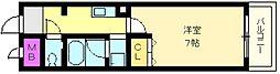 カレッジハイツ百舌鳥[4階]の間取り