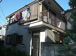 東京都中野区中央5丁目の賃貸アパートの外観