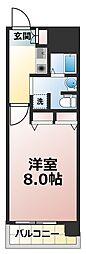 アスリート新大阪II番館[2階]の間取り