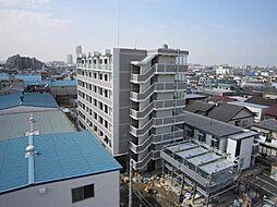 埼玉県川口市弥平3丁目の賃貸マンションの外観