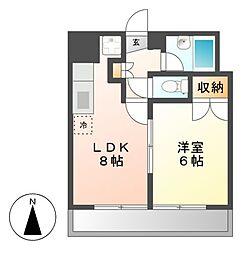 ラ・メゾン伊藤[2階]の間取り