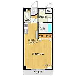 SANKEI HOPE'Z[1階]の間取り