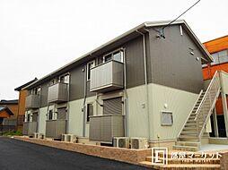 愛知県岡崎市栄町4丁目の賃貸アパートの外観