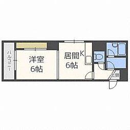 第53松井ビル[2階]の間取り