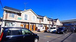 埼玉県東松山市六軒町の賃貸アパートの外観