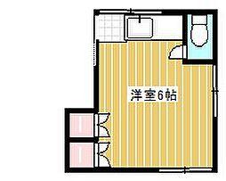 コーポ葵[2階]の間取り
