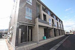 広島県福山市西新涯町1丁目の賃貸アパートの外観