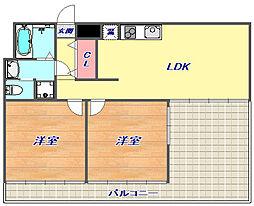 マグノリア[3階]の間取り