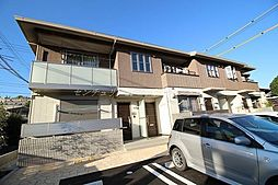 岡山県岡山市北区津島東2丁目の賃貸アパートの外観