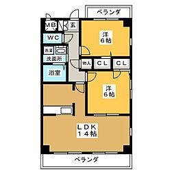 マノワール八事[3階]の間取り
