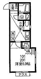 DSコート・IKUTA[2階]の間取り
