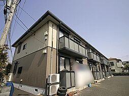 埼玉県上尾市上平中央2丁目の賃貸アパートの外観