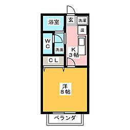 サンフレンズ神田[2階]の間取り