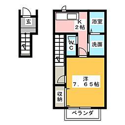 アンフィニIII[2階]の間取り