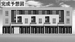 栃木県宇都宮市越戸1丁目の賃貸アパートの外観