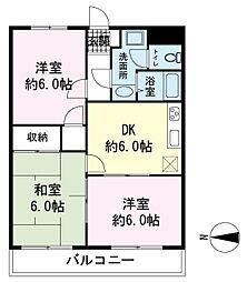 ストークハウス韮山[1階]の間取り