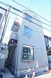 東京都大田区西六郷1丁目の賃貸アパートの外観